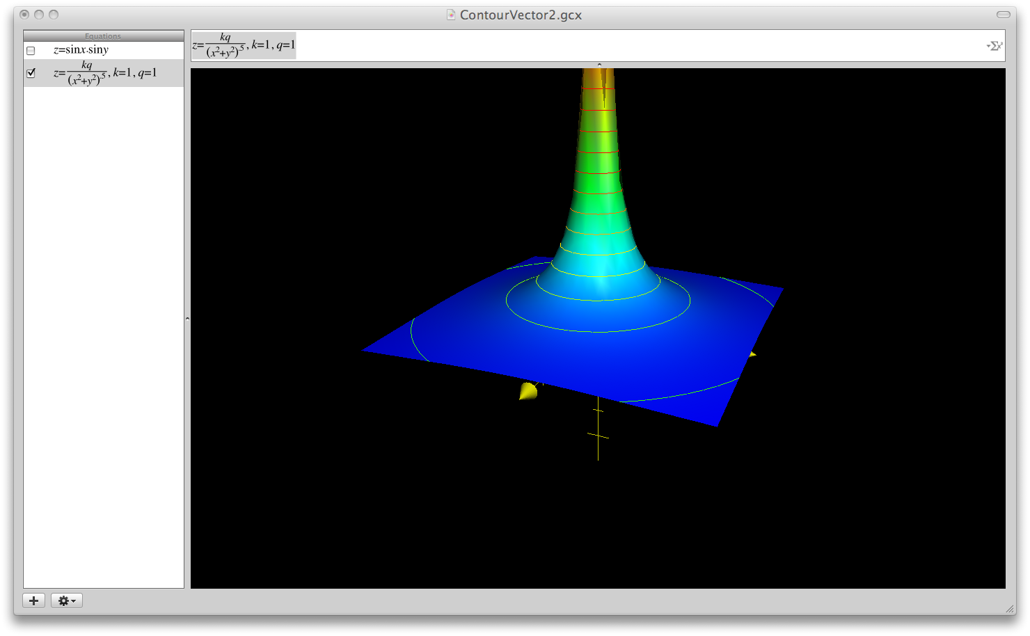 1480x914 Mac Os X Grapher Contour And Vector Plots The Putterer