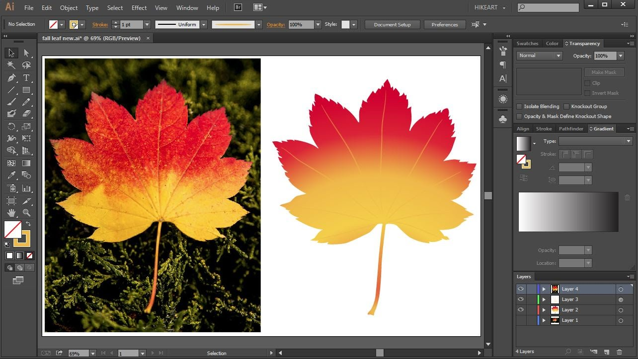 1284x724 How To Convert A Jpeg Image Into A Vector Graphic In Adobe