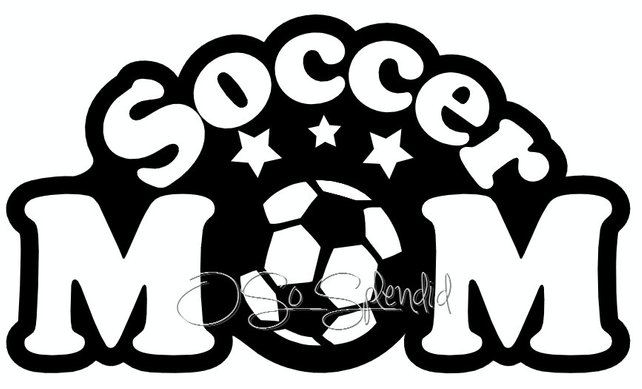 642x389 Soccer Mom Digital File Vector Graphic Personal Use Etsy