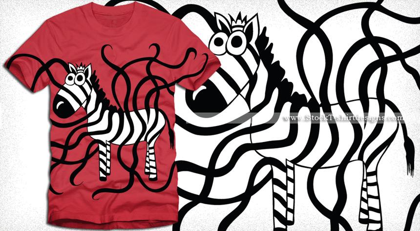 860x473 Zebra T Shirt Design Vector Graphics Vector T Shirt Designs Ai