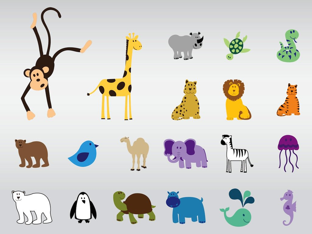 1024x769 Cute Vector Animals Vector Art Amp Graphics