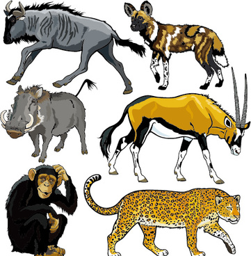 361x368 Wild Animal Clip Art Free Vector Download (217,168 Free Vector