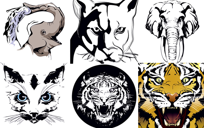 700x439 Animal Prints 3 Free Vector Graphic Download