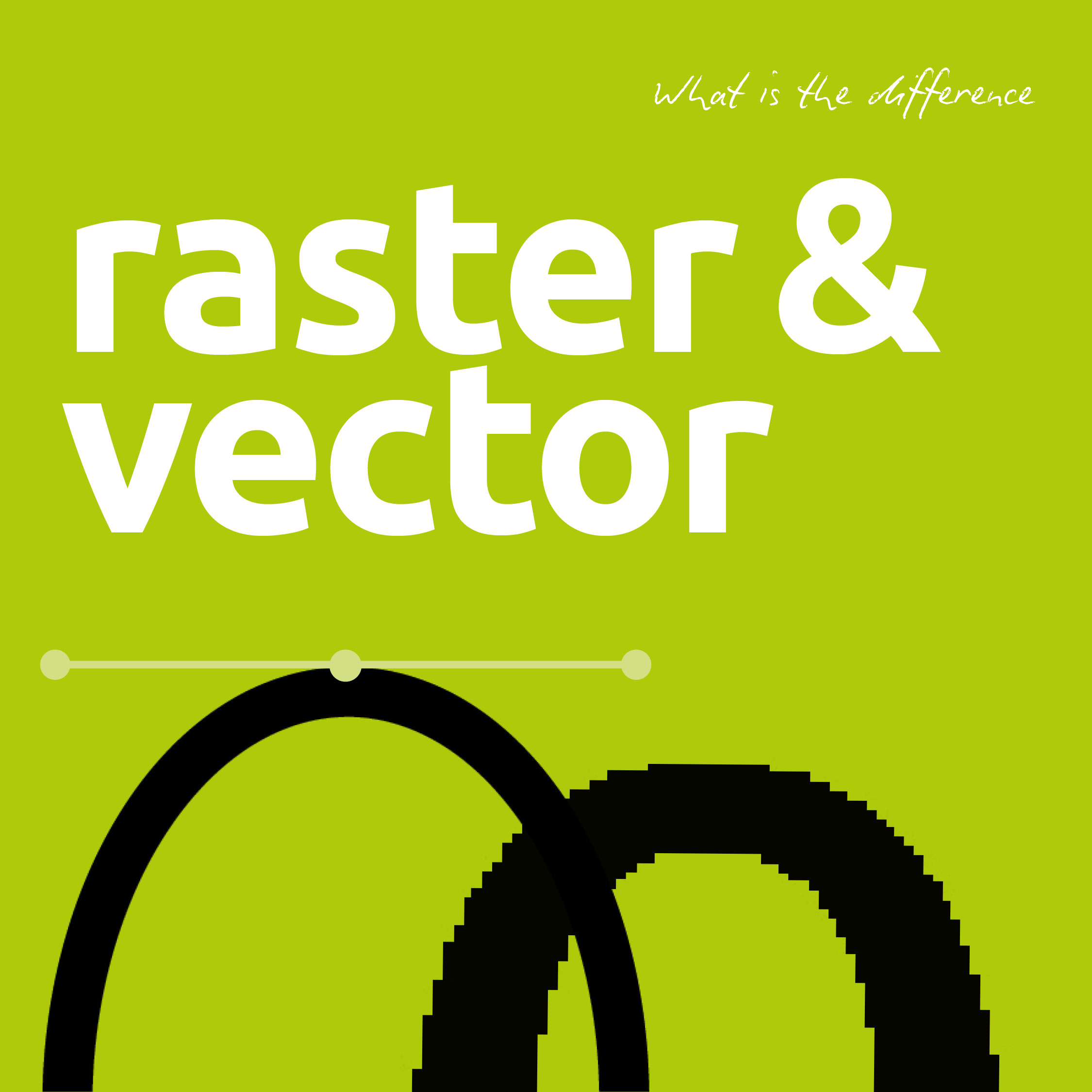 2250x2250 The Difference Between Raster And Vector Graphics Explained