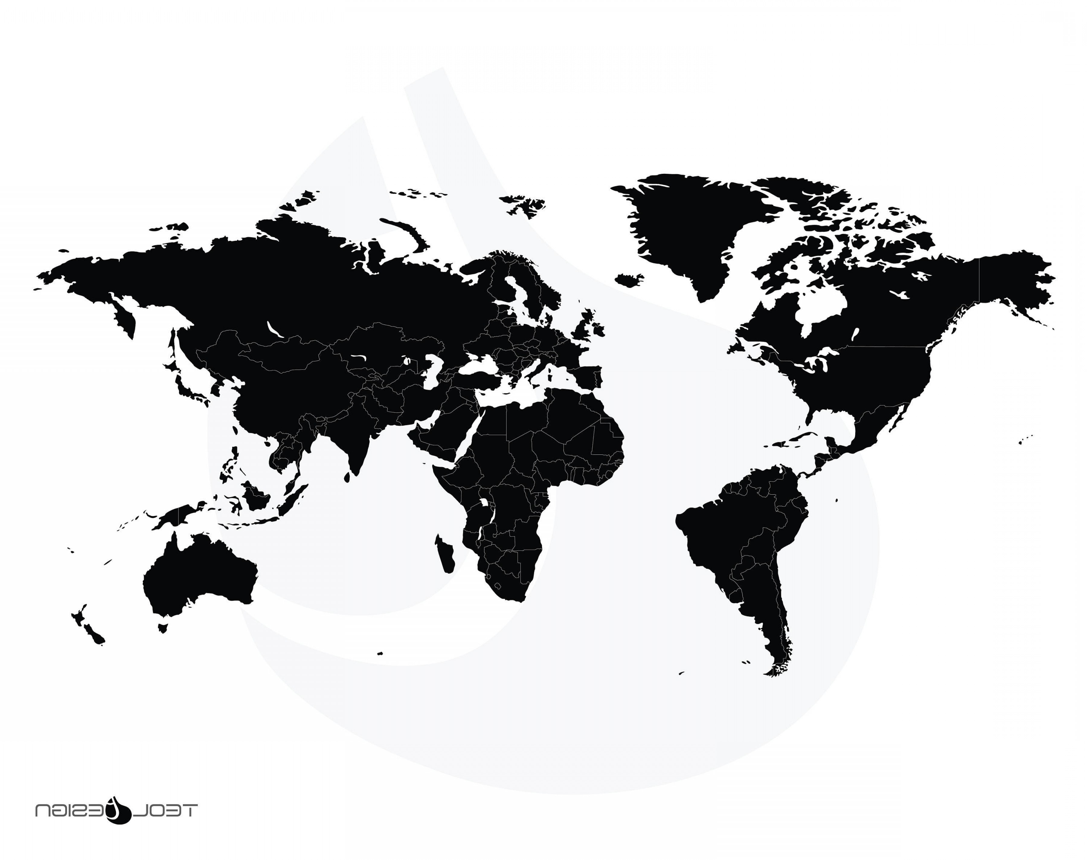 3600x2850 World Map In Vector Graphics Fresh World Map Vector Graphic Best