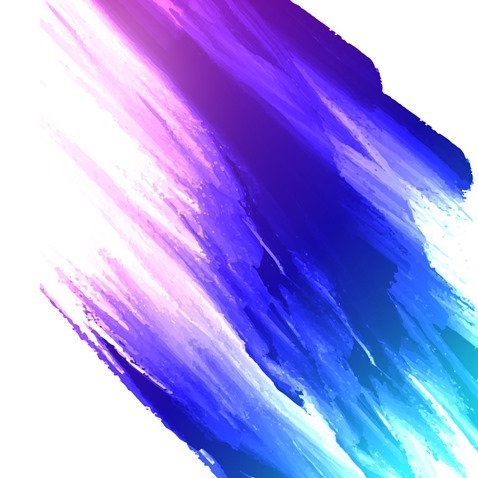 478x478 Abstract Colorful Watercolor Painting Background Vector Graphic