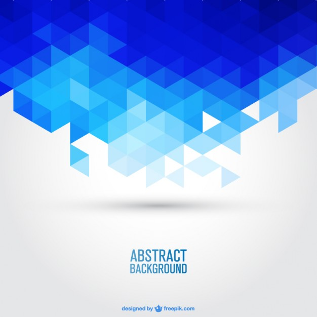 626x626 Blue Geometric Background Vector Free Download
