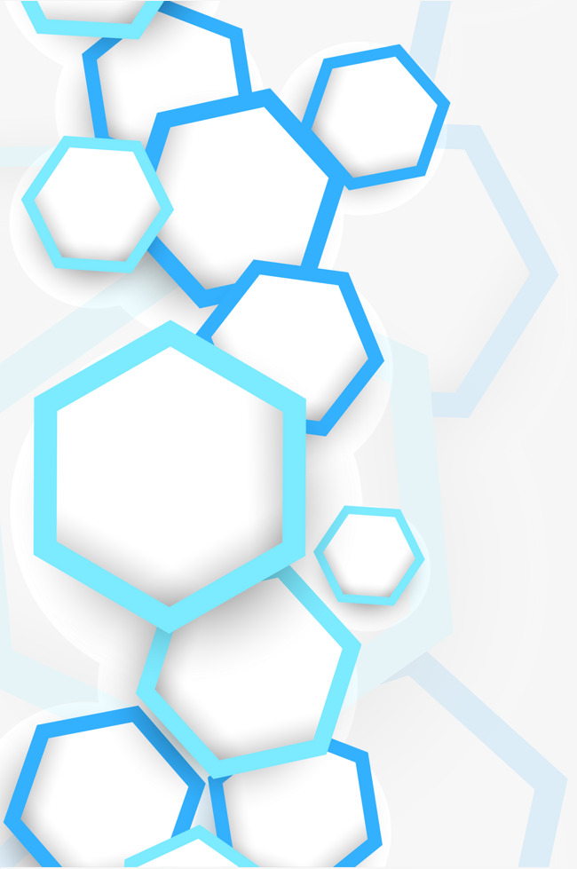650x979 Hexagon Graphics Background Vector, Geometry, Blue, Creative Png