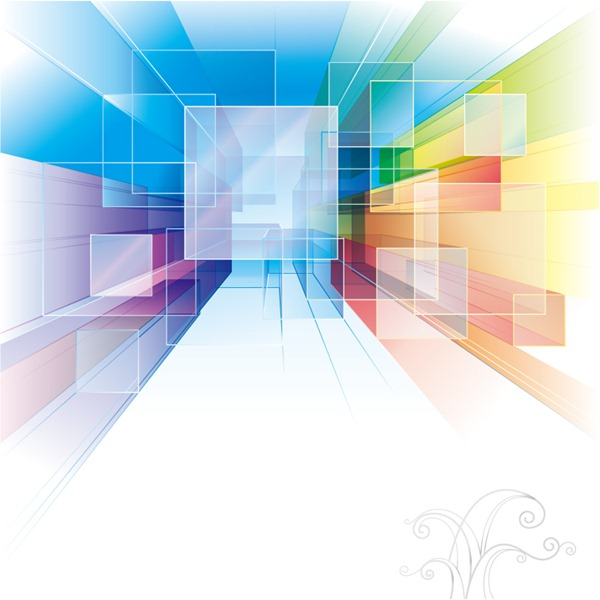600x600 Symphony Square Abstract Background Vector Graphics My Free