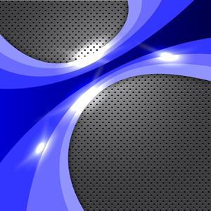 300x300 Blue Vector Glowing Background