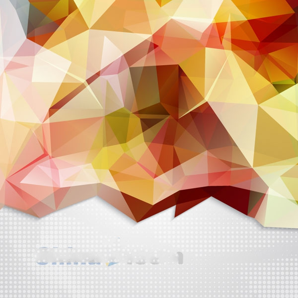 600x600 Colorful Geometric Vector Graphics Background Map Free Download