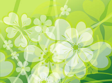 452x336 Abstract Flowers Background