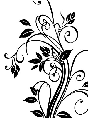 300x402 Exquisite Black And White Pattern Vector Graphic Graphic Hive
