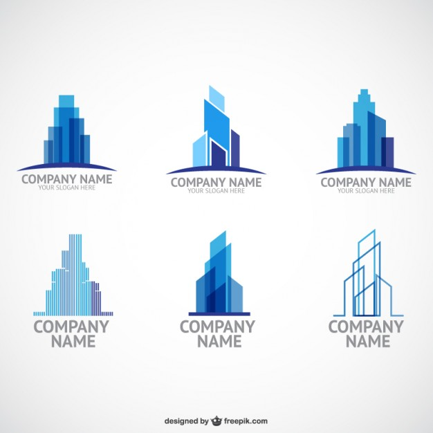 626x626 Construction Company Logo Templates Vector Free Download