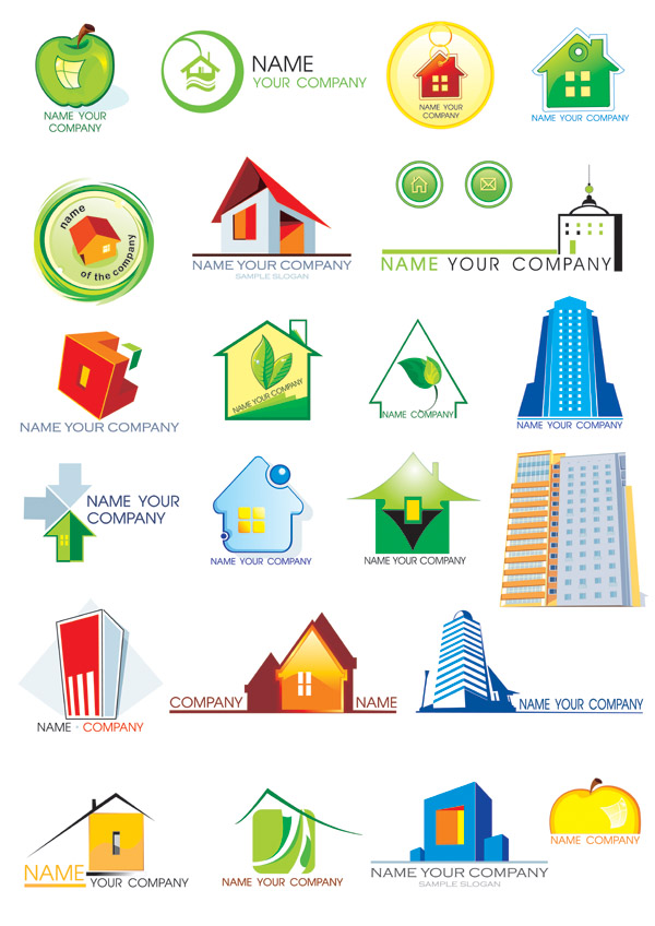 600x848 House Theme Logo Vector Graphic Download Free Vectors Graphic Design