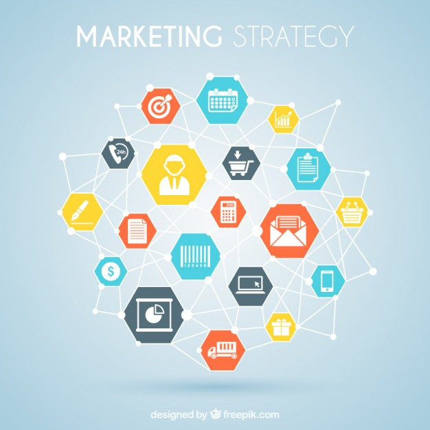 626x626 Marketing Strategy Graphic Vector Free Download