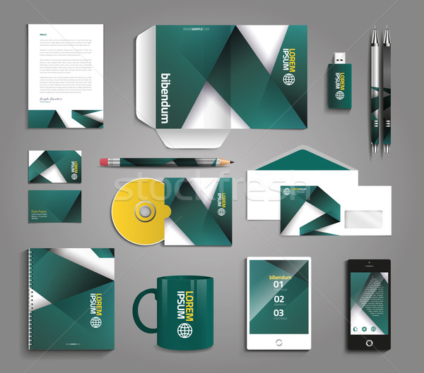 600x529 Vector Graphic Professional Identity Design For Your Company In