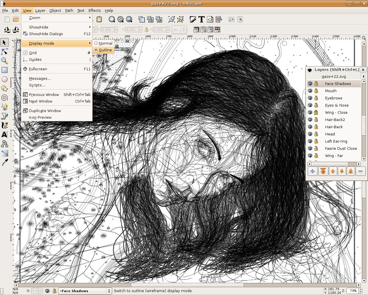 1280x1024 Download Inkscape 0.48.4 1 Open Source Vector Graphics Editor