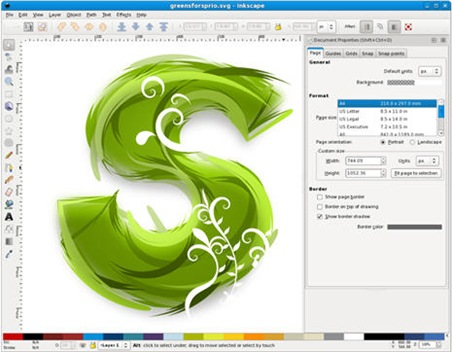 452x352 Vector Graphics Editor