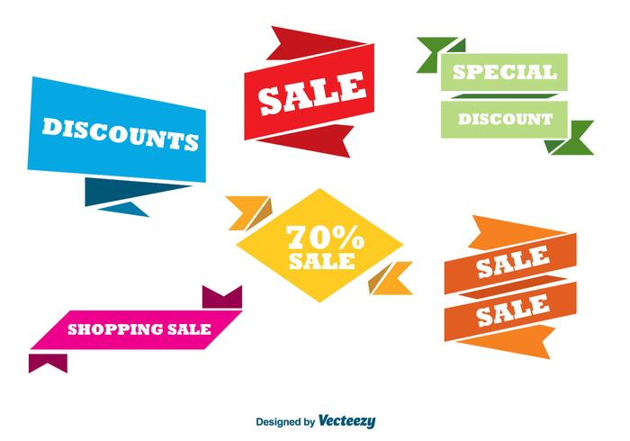 700x490 Colorful Sale Banners