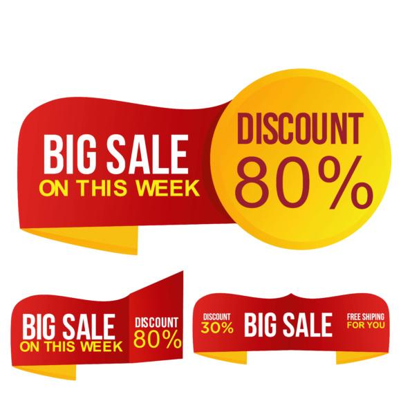 580x580 Discount Sale Vector Graphic By Gerobak Studio
