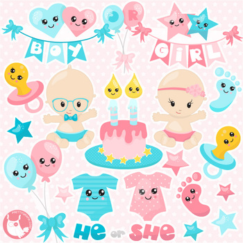 350x350 Sale Gender Reveal Clipart Commercial Use, Vector Graphics