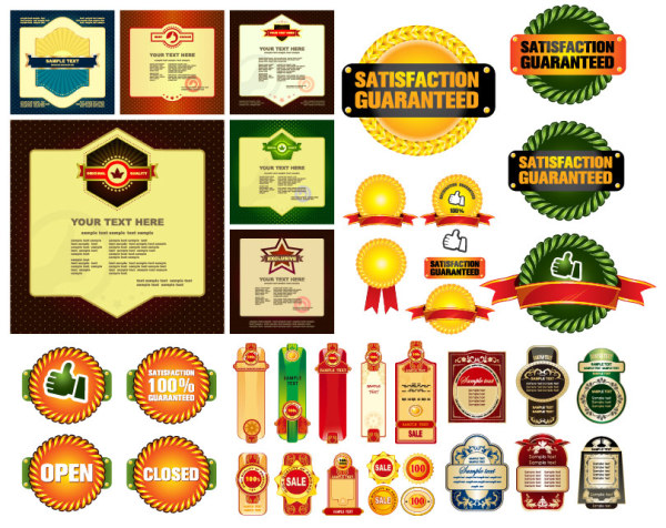 600x476 Some Useful Material Sales Discount Decorative Graphics Vector