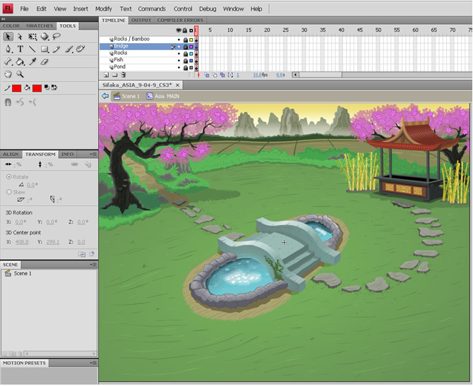 670x547 Image Sequences Or Vector Art In The Development Of Flash Games