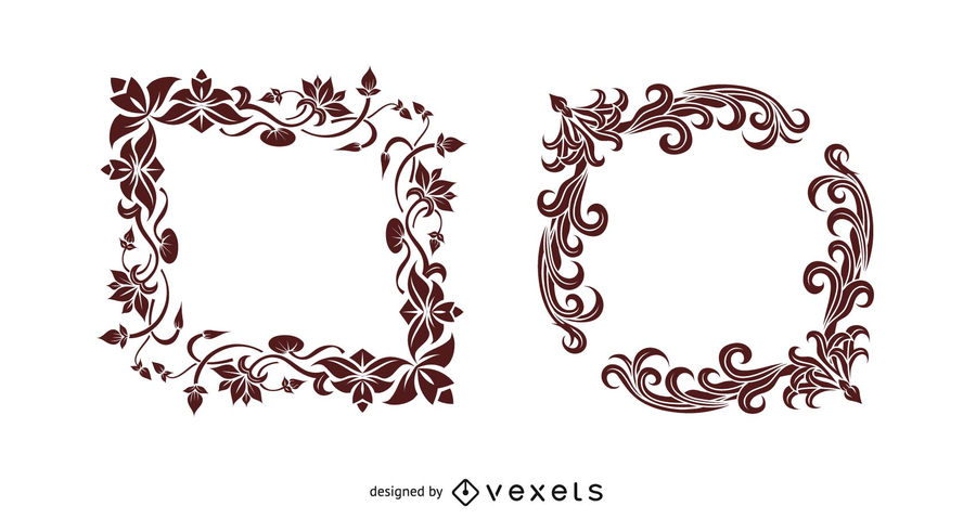900x491 Indian Style Border Vector Graphic