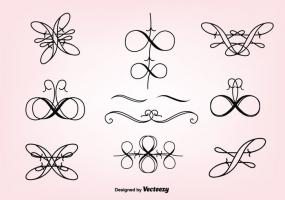 285x200 Curly Design Border Free Vector Graphic Art Free Download (Found