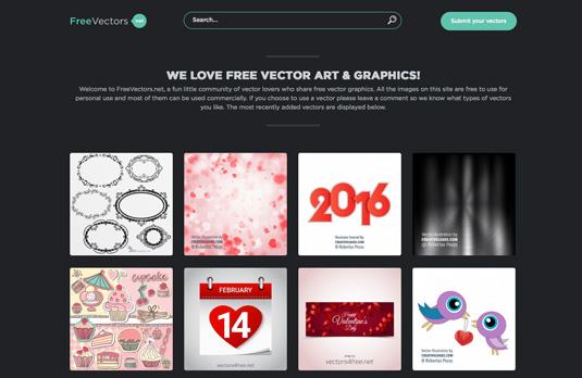 Vector Graphics Website