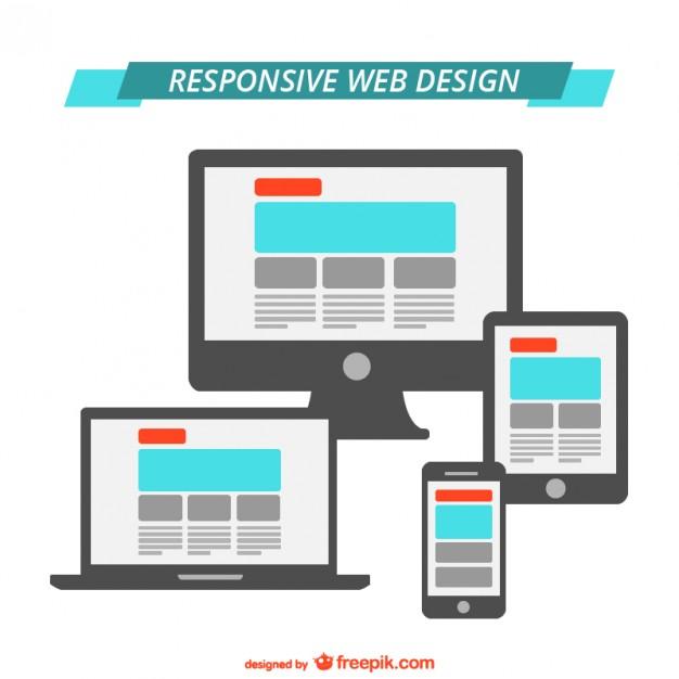 626x626 Responsive Web Design Flat Graphics Vector Free Download
