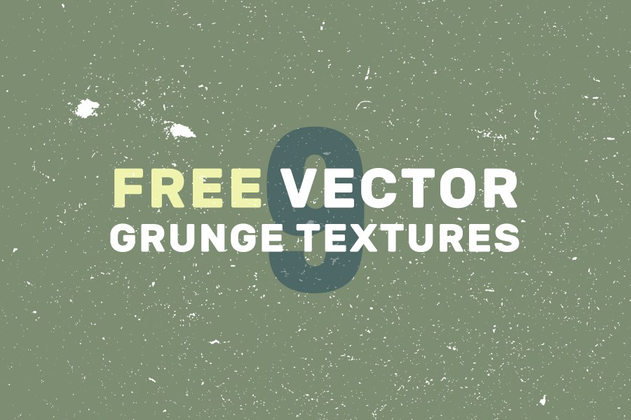 900x600 9 Free Vector Grunge Textures Free Design Resources
