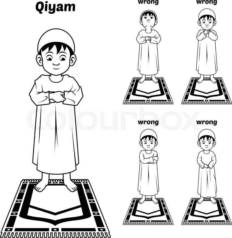 779x800 This Image Is A Muslim Prayer Position Guide Step By Step Perform