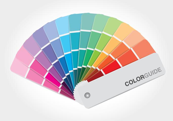 700x490 Color Guide Book Vector