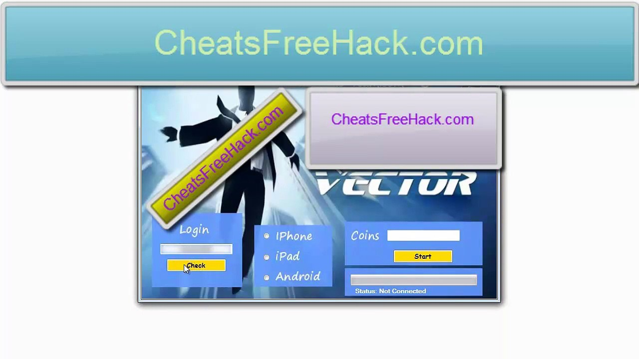1280x720 Vector Coins Hack Tool Free Download 2014