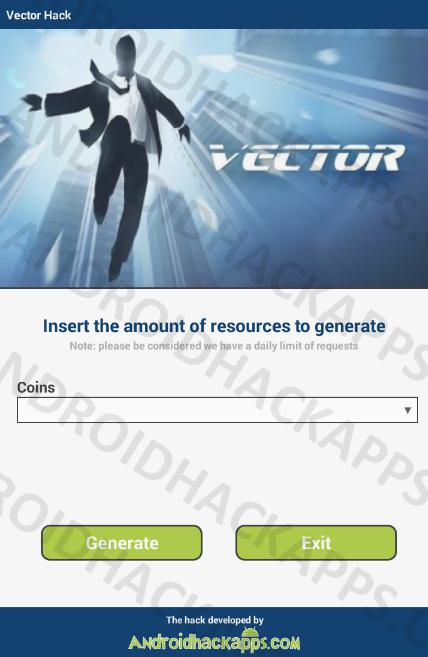 428x657 Vector Hack Apk Coins