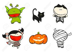 260x184 Download Vector Halloween Kids Clipart Halloween Costume Clip Art