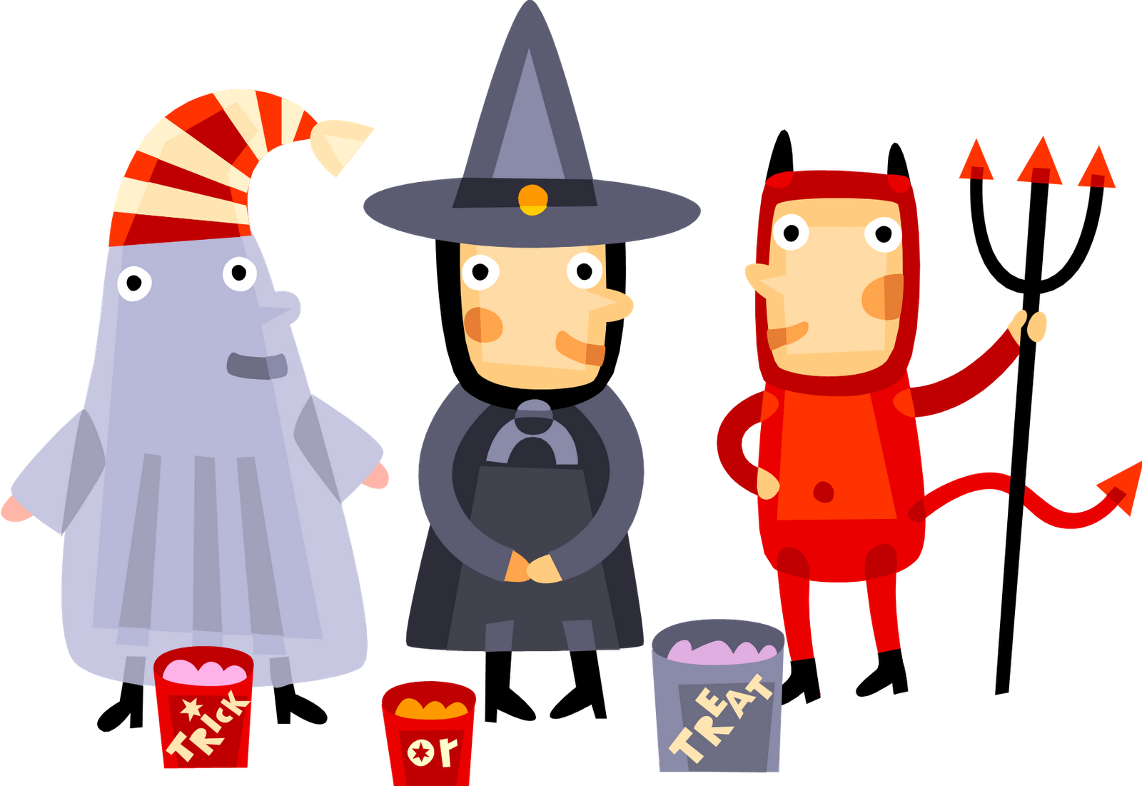 1600x1101 Free Halloween Costumes Vector Free Library