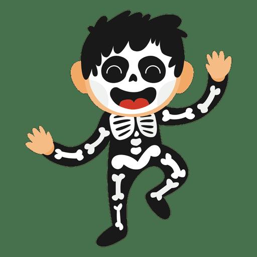 512x512 Skeleton Kid Halloween Costume