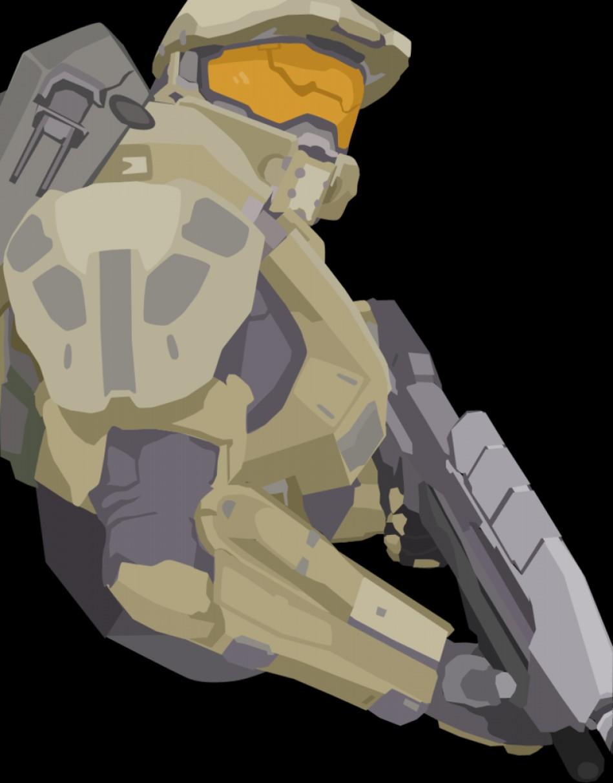 949x1212 Halo Master Chief Vector Lazttweet