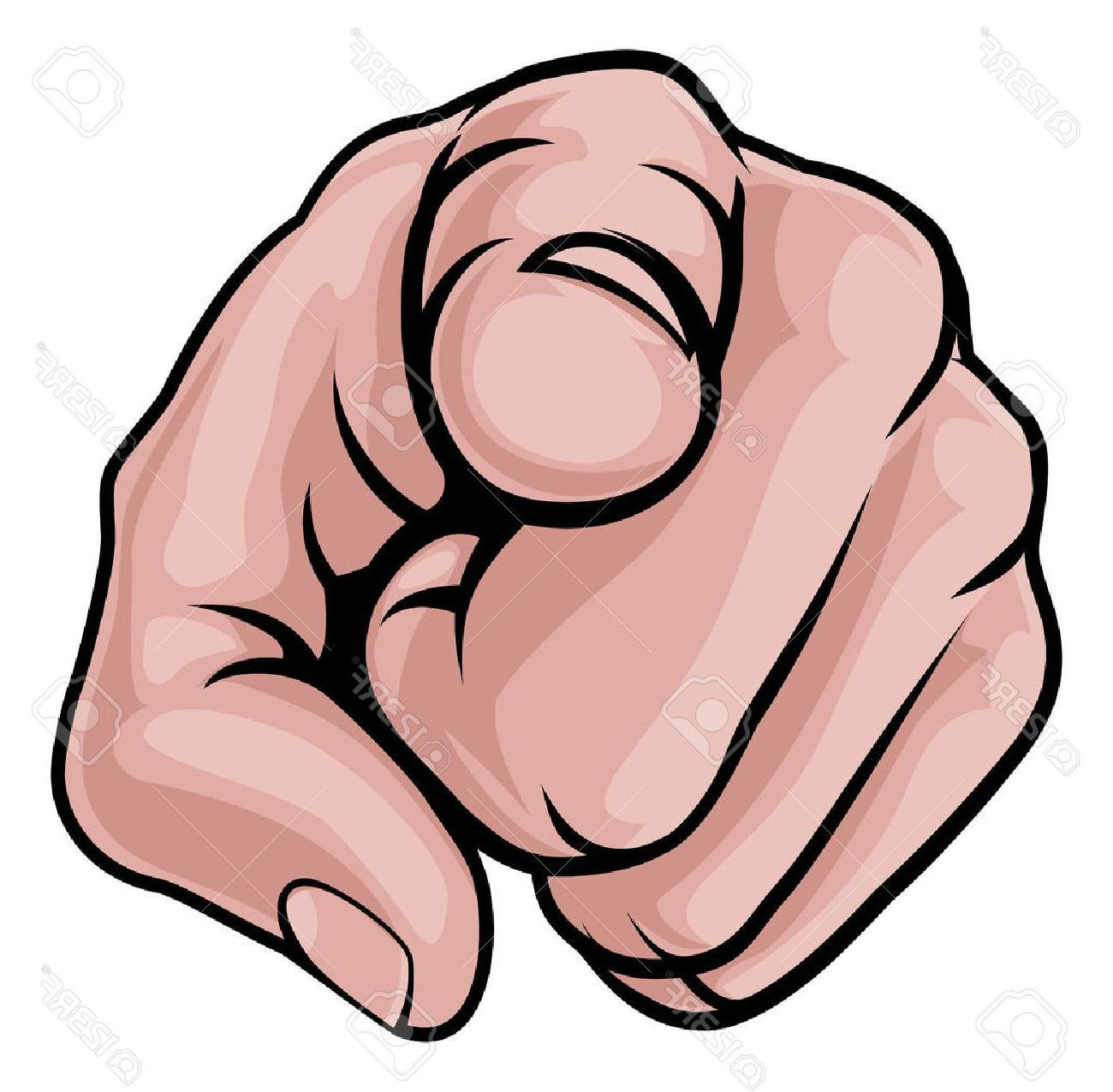 1300x1275 Hd Cartoon Pointing Finger Meme Vector Image Free Vector Art