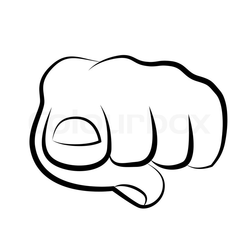 800x800 Hand Pointing Finger