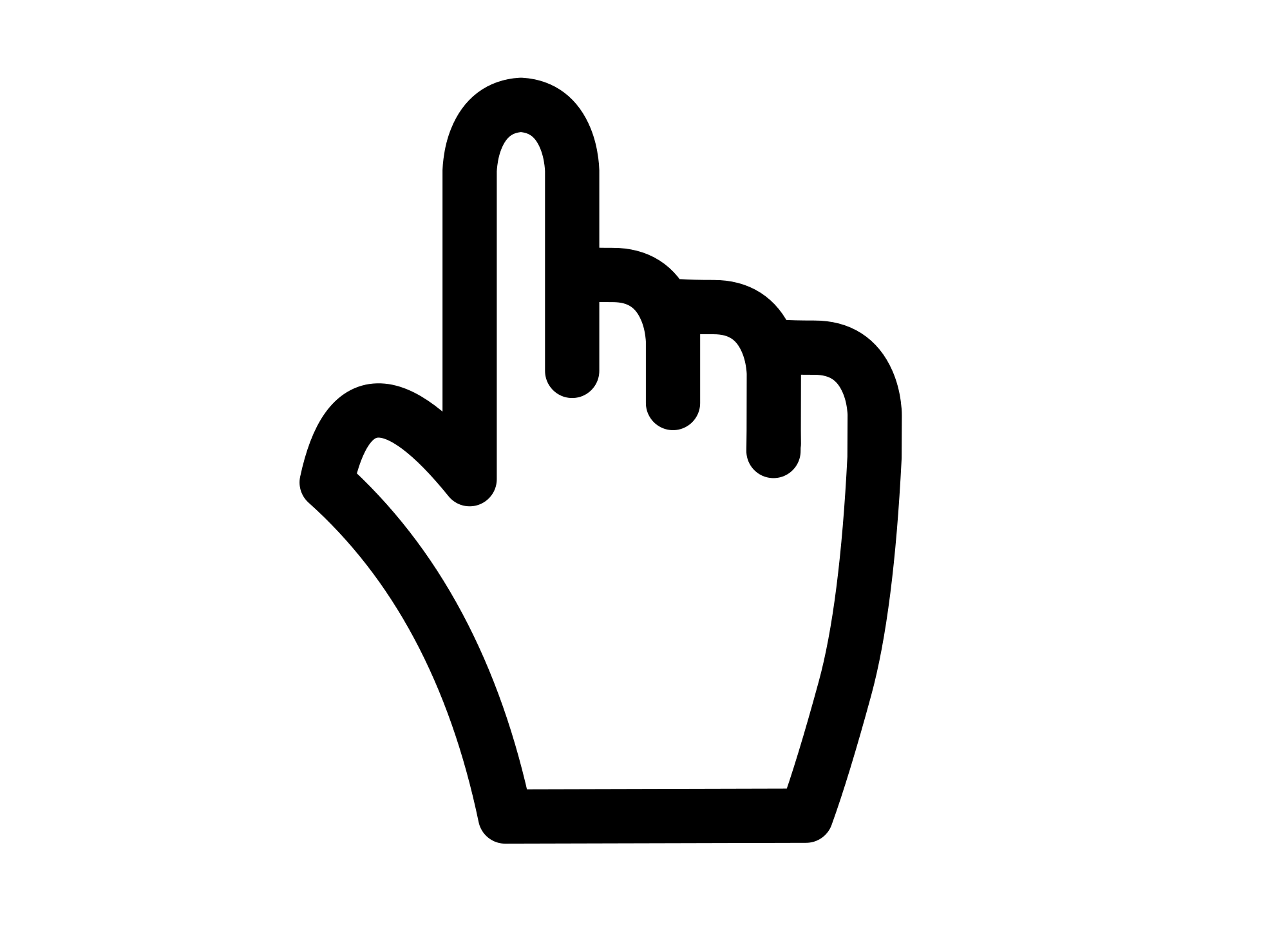 2000x1455 Filepointing Hand Cursor Vector.svg