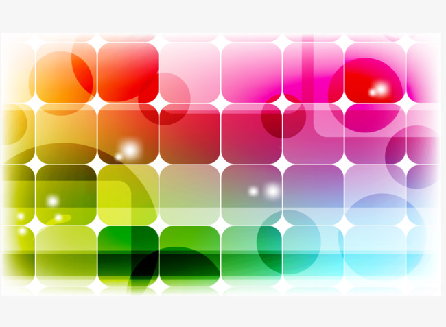 650x477 Vector Hd Corner Color Lattice, Vector, High Definition, Fillet
