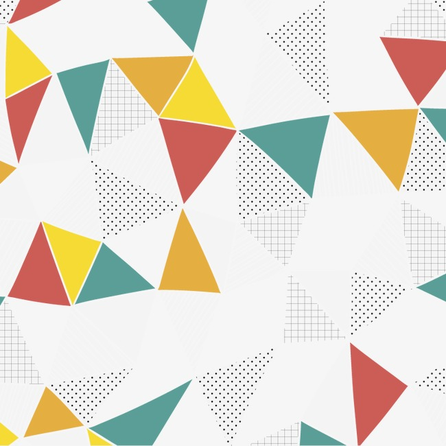 650x650 Vector Triangle Background, Triangle Vector, Vector, Hd Png And
