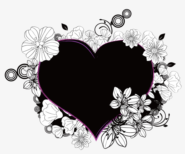 650x541 A Black Lace Heart, Black Vector, Lace Vector, Heart Vector Png