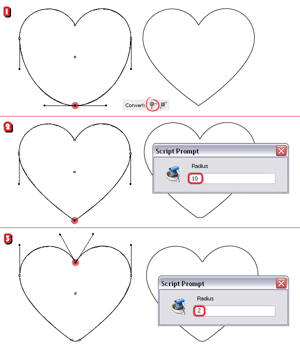 600x710 How To Create A Set Of Heart Icons In Adobe Illustrator With The