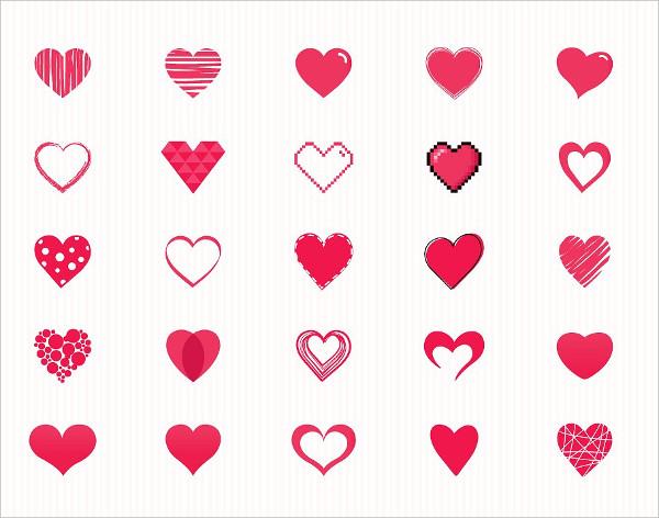 600x472 34 Beauty Vector Heart Shape Illustrator. Latest 34 Beauty Vector
