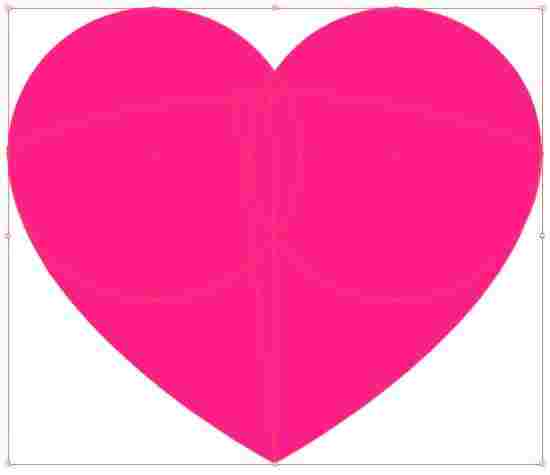 550x475 How To Distribute S Within Another Rhboomcom How Vector Heart